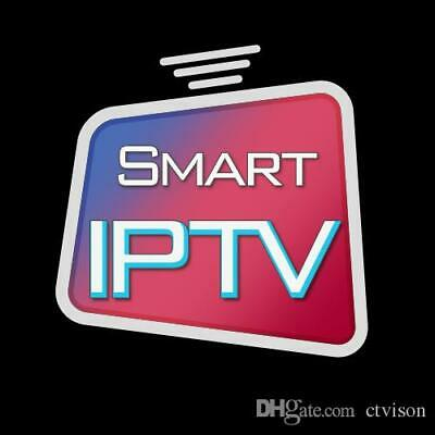 1 Year  Iptv Subscription Arabic, European, Us Ch. Smart Tv, Mag ,android Box