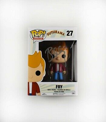Billy West Futurama Fry Autographed Signed Funko Pop Certified Authentic BAS COA