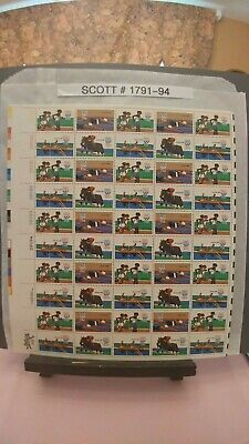 Scott # 1791-94 - Olympic Games Issue - 22nd. Summer Olympic Games - Moscow