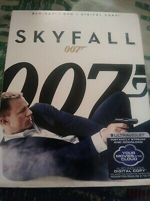Skyfall bluray with slipcover