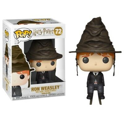 Funko Pop! Harry Potter - Ron Weasley with Sorting Hat #72 Exclusive