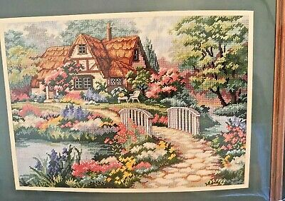 Dimensions Cottage Retreat Needlepoint Kit #2461 - New in opened package