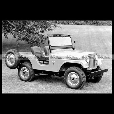 #pha.011710 Photo JEEP CJ-5 1954-1983 (CJ5) Car Auto