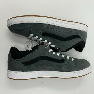 2f0f385c5f VANS BAXTER (S12) Charcoal Suede Skate Shoes Grey Gray Sz 10 Mens ...