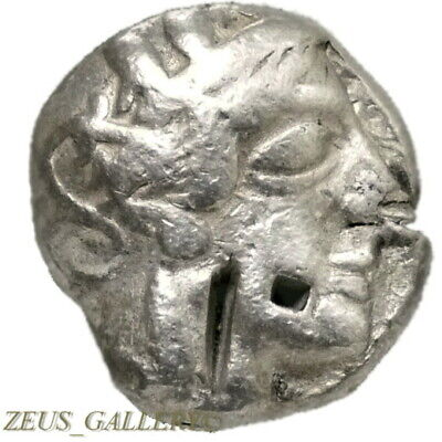 ATHENA / Owl Athens. Attic Silver Tetradrachm 440 BC Ancient Greek Coin Perikles