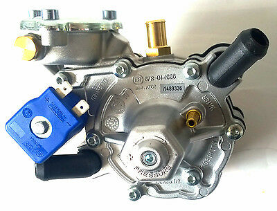 Lpg Vaporizer Reducer Tomasetto Artic For Sequential Injection System 240Bhp