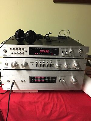 1980 Eumig T-1000, C-1000, M-1000 Amplifier, Preamplifier,Tuner - Rare Full Set!