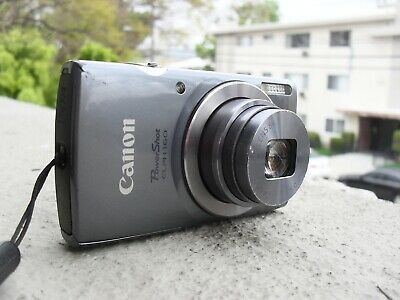 CANON POWERSHOT ELPH 160 20mp 8x ZOOM WITH CHARGER - TESTED, WORKING GREAT