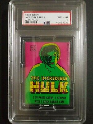22 1979 Topps Incredible Hulk Sticker Complete Set Marvel Lou Ferrigno NM COND
