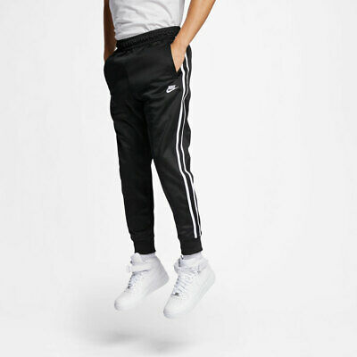 b6310a4a0b24 NEW MENS 2XL NIKE TRIBUTE PANTS JOGGERS TRACK BLACK WHITE AR2255 010 loose  taper