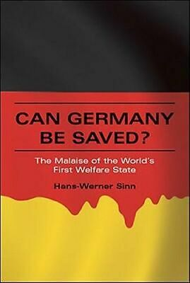 NEW Can Germany Be Saved? By Hans-Werner Sinn Paperback Free Shipping