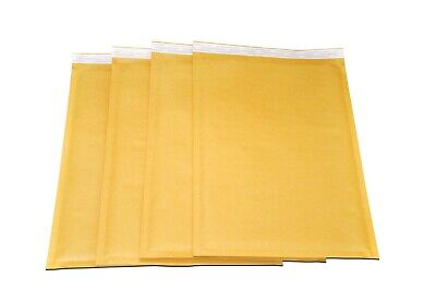"50 - #0 Kraft Paper Bubble Mailers, 6.5"" x 10"" Padded Envelopes, Shipping Mailer"