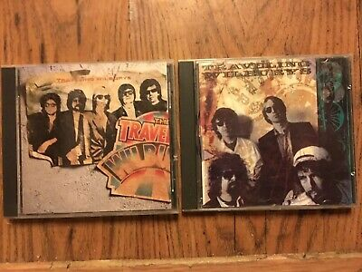 The Traveling Wilburys : The Traveling Wilburys - Volume 1 and 3 CD No Flaws!!