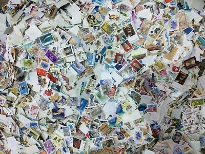 USED Australia Kiloware 10000+  OFF paper stamps BULK