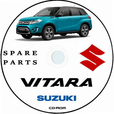 Suzuki Vitara,Spare Parts.Vitara LY Parts Catalogue,Catalogo Ricambi Vitara 2015
