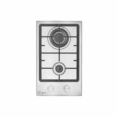 """Empava 12"""" Stainless Steel 2 Italy Sabaf Burners Stove Top Gas Cooktop"""