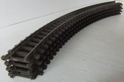 TRI-ANG HORNBY R483 Full length Standard Radius Curved track pieces x 4