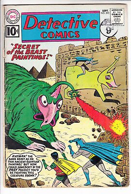 BATMAN in DETECTIVE COMICS  V1 #295  VG / VG- 10cts 1961   AMERICAN DC COMIC