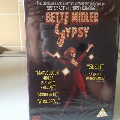 Gypsy Dvd (2005)  New & Sealed  Bette Midler