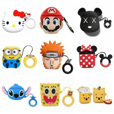 Cute Favorite Cartoon Silicone Airpods Case Cover For Apple Airpods Accessories