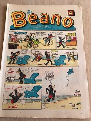 The Beano. No 1412. 9 Aug 1969