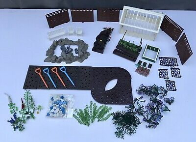 Job Lot Vintage 1970's Britains Floral Garden Model Plastic Toy