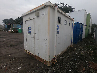 12ft x 8ft SITE OFFICE PORTABLE BUILDING GATE HOUSE ANTI VANDAL £650 + VAT FAIR