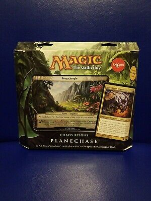 1x Chaos Reigns Sealed Planechase 2012 Deck mtg Magic the Gathering new x1