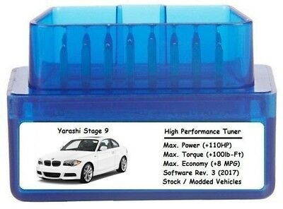 STAGE 9 PERFORMANCE Power Tuner Chip [ Add 110HP 8 MPG ] OBD