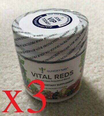 Gundry MD Vital Reds - 3 Jars - (Three-Month Supply)