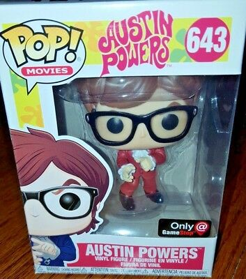 Film-fanartikel Film, Tv & Videospiele Austin Powers Red Suit Mike Myers Spy Spion Pop Movies #643 Figur Funko