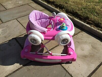 My Child Sports Car Baby Walker Rocker