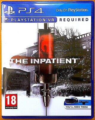 The Inpatient - PlayStation PS4 Games - Very Good Condition - VR
