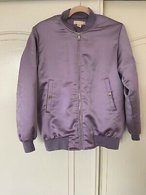 0d10932b6 SIZE 8 BRONZE Satin Bomber Jacket From H&M - $13.01 | PicClick