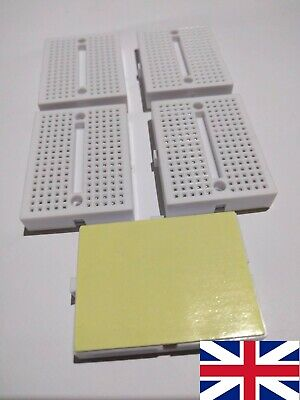 5x Mini Solderless Breadboard Prototype Board 170 Tie-points
