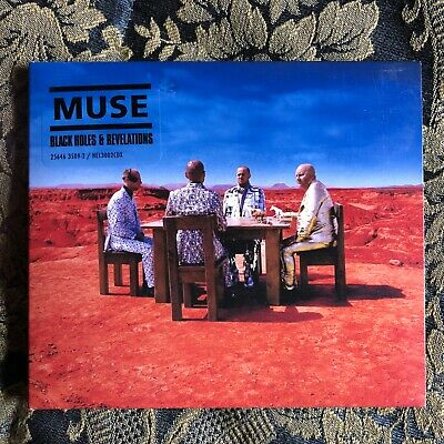 MUSE BLACK HOLES AND REVELATIONS cd digipack first edition used M-