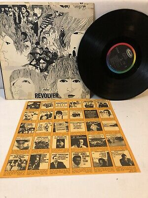 The Beatles Revolver 1966 LP Vinyl Original T-2576 Taxman Elanor Rigby