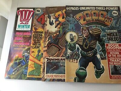2000AD Sci-Fi Special  Job lot ( 4 Number )
