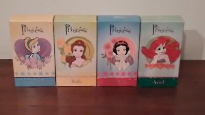 "STOCK LOTTO  4 EAU DE TOILETTE 75ml  NATURAL SPRAY ""PRINCESS DISNEY"""