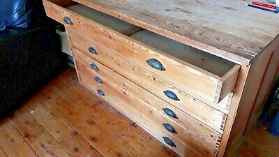 Vintage professional Plan Chest, 6 drawers, Good quality,