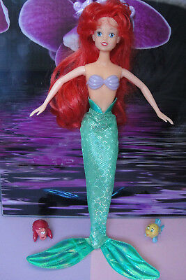 Simba Disney Puppe Doll Arielle Meerjungfrau Ariel the little Mermaid Fabius Seb