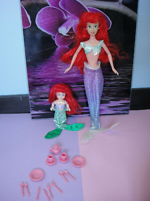 Simba Disney Puppe Doll Arielle Meerjungfrau Ariel the little Mermaid Evi Steffi