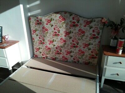 French Shabby Chic Style Double Bed Frame