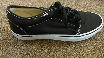 c8f1b5f949d BRAND NEW Authentic Vans Black Mens Womens Unisex Trainers-Size 8 Free  delivery