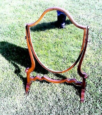EARLY 1900s VANITY / DRESSING TABLE MIRROR in rather nice condition