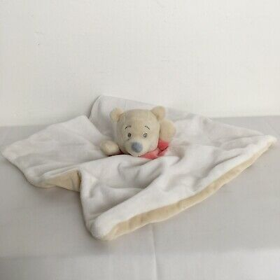 Disney Baby Winnie The Pooh Baby Comforter Blankie Doudou Soother