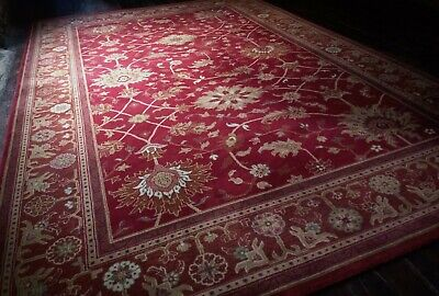 Large John Lewis Persian Wool Rug Royal Keshan By Handmade Carpets Ltd Agra