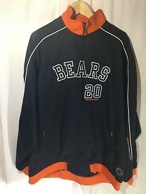 Chicago Bears Reebok Jacket Gridiron Classic New Without Tags