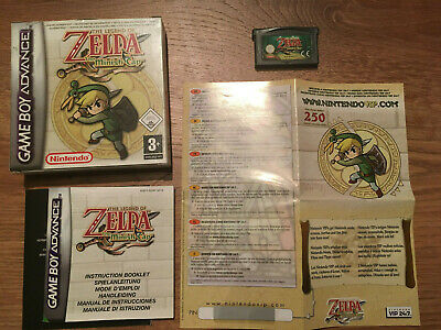 The Legend of Zelda Minish Cap Très Bon Etat Complet - Near Mint Nintendo GBA