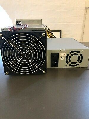 Ebit E9+ Plus 14TH/ ASIC Bitcoin BTC Miner + 1850W Power Supply 95+ - s9 - Used